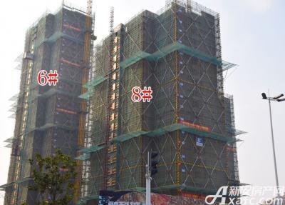 融创城6#8#楼工程进度(2017.03.07)
