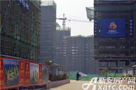 望和锦绣城工程进度