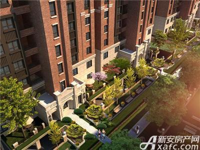 金域蓝湾住宅项目俯视图