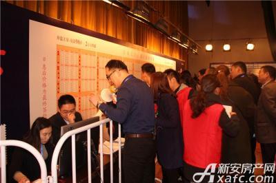 金域蓝湾选房区(2016-10-29)