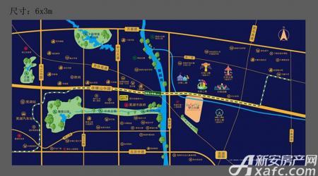 罗兰小镇交通图