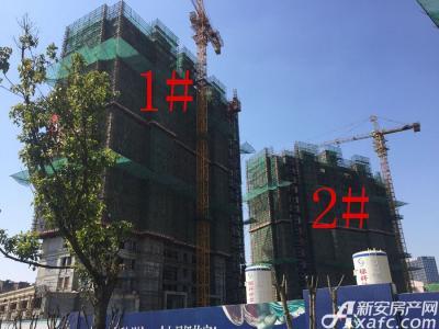 华源七星城1#、2#楼3月进度图(2017.3.16)