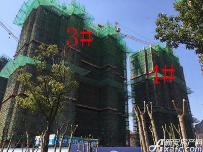 华源七星城3#、4#楼3月进度图(2017.3.16)