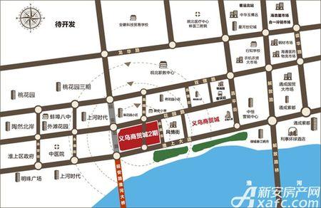 蚌埠义乌国际商贸城2期交通图
