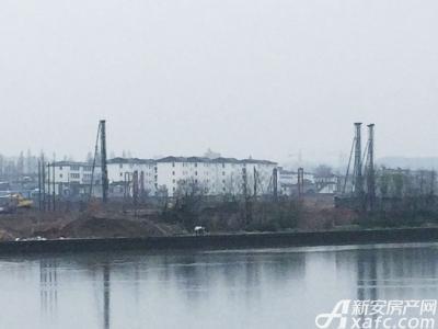 恒大滨江左岸恒大地块最新进展:桩基建设