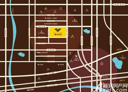文一千树湾交通图
