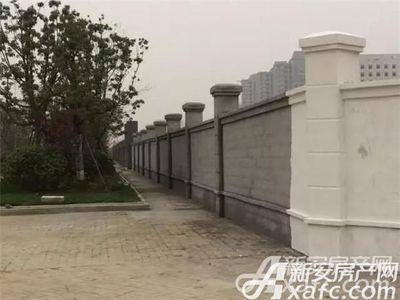 恒大珺睿府工地围墙