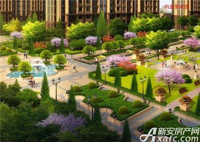 利辛佳源都市项目绿化渲染图