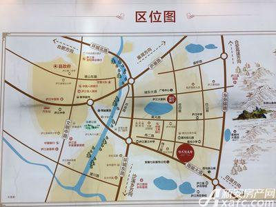 恒大悦龙台交通图
