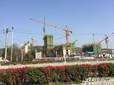 湖山壹品湖山壹品项目正在建设