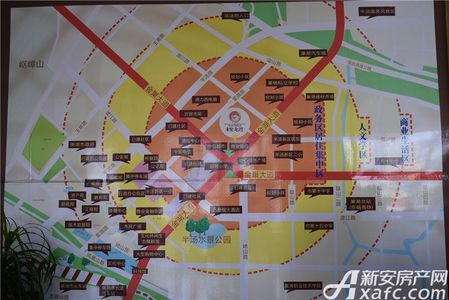 绿源聚龙湾交通图