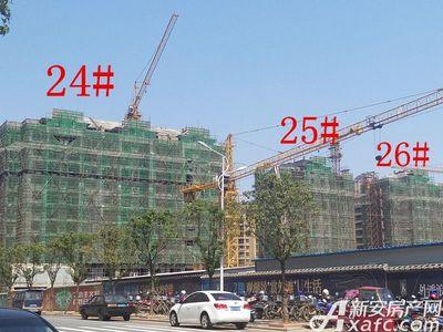 天景庄园24#—26#楼项目进度(2017.3.30)
