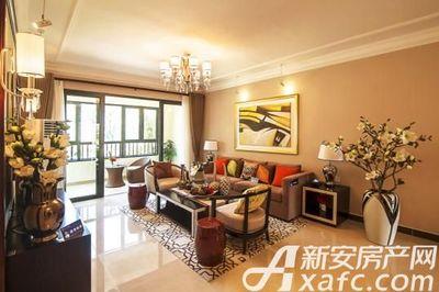 恒大江北帝景A1户型客厅