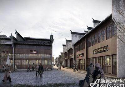 庐江中心城岗湾老街效果图