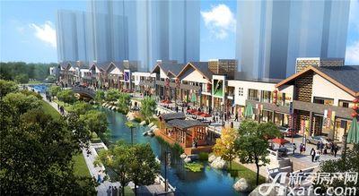 庐江中心城步行街效果图