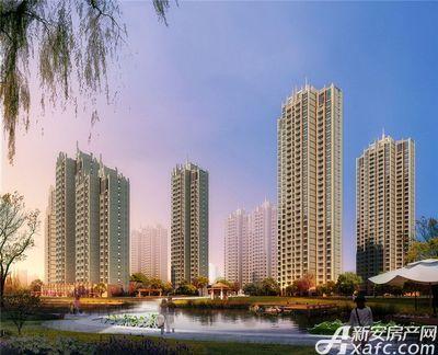 庐江中心城住宅沿水透视图