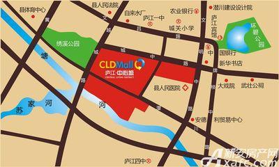 庐江中心城交通图