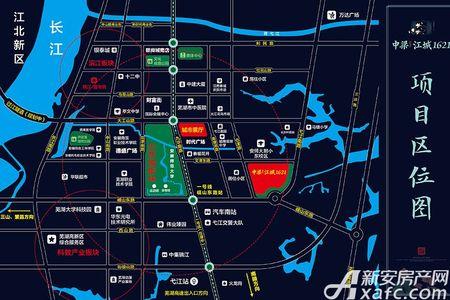 中梁江城1621交通图
