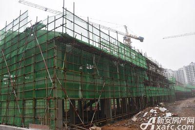庐江中心城老街正在建设中