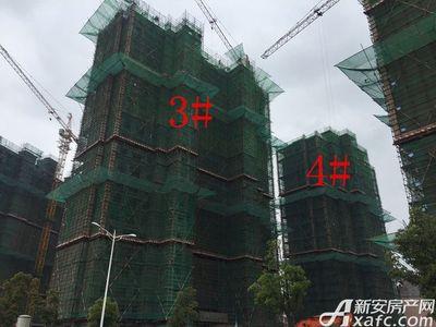 华源七星城3#、4#楼4月项目进度图(2017.4.12)