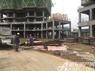 新安印象2017.4.12 施工现场