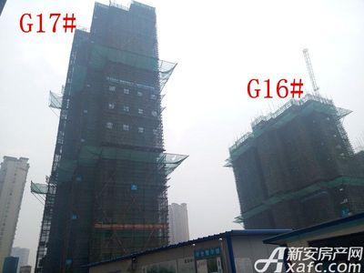 高速铜都天地G16#、G17#楼项目进度(2017.4.14)