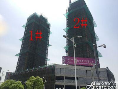 银湖义安学府1#、2#楼4月项目进度图(2017.4.19)