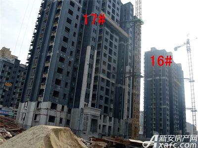 迎春颐和城2017年4月工程进度