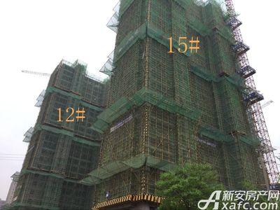 秀山信达城12#15#工程进度(2017.4.25)