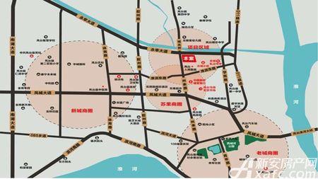 家园·天下城交通图