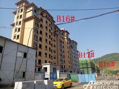 地矿龙山湖苑B16#—B18#楼项目进度(2017.4.28)