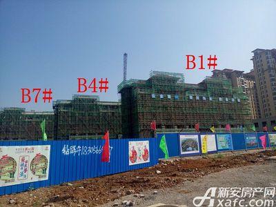 地矿龙山湖苑B1#、B4#、B7#楼项目进度(2017.4.28)