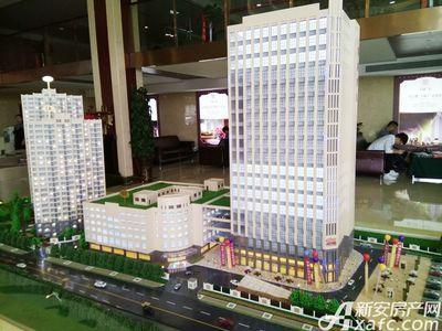 华商广场实景图