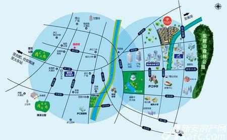 碧桂园•钻石湾交通图