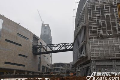安德利广场项目正在建设中(2017.4.12)