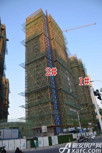 融创城1#2#楼工程进度(2017.05.11)