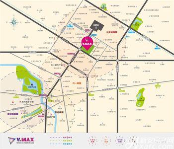 V to max电竞文化主题购物公园交通图