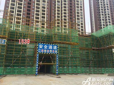 高速云水湾163#工程进度(2017.5.15)