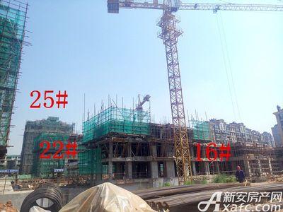 天景庄园16#、22#、25#楼项目进度(2017.5.17)