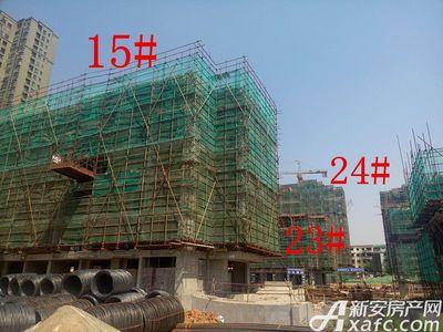 天景庄园15#、23#、24#楼项目进度(2017.5.17)