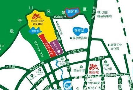 龍亭御园交通图