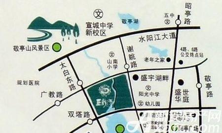 三一亚龙湾交通图