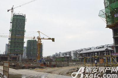 新安印象2017.5.22 新安印象 项目现场 塔吊施工中