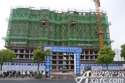 新安印象2017.5.22 新安印象 项目施工大门