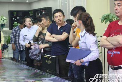 滨江壹号院城市展厅开放活动(2017.5.20)