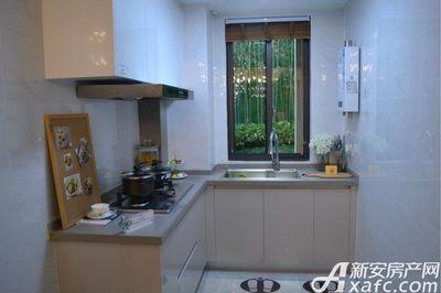中南·熙悦126㎡户型样板间厨房