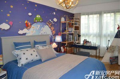 中南·熙悦126㎡户型样板间儿童房