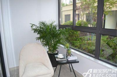 中南·熙悦126㎡户型样板间阳台