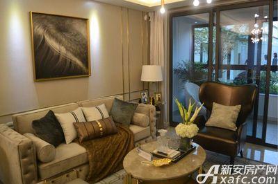 中南·熙悦126㎡户型样板间客厅