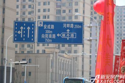 新华御府项目周边交通图